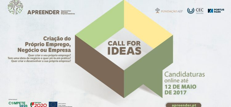 "2º ""Call for Ideas"" – Projeto APREENDER 3.0"