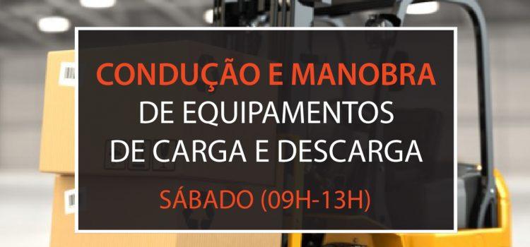 Condução e manobra de equipamentos de carga e descarga