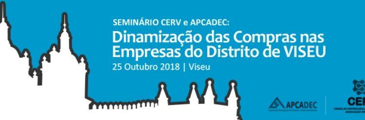 Seminário: Dinamização das Compras nas Empresas do Distrito de VISEU   dia 25 de outubro