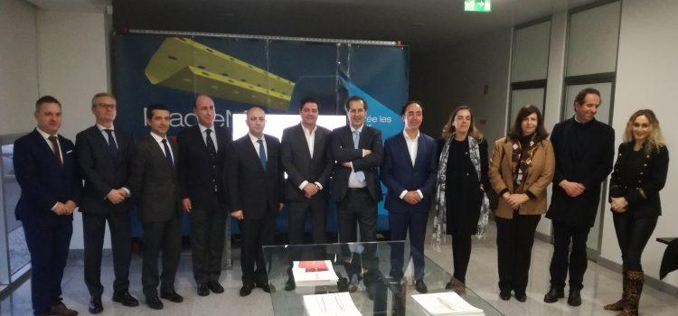 Secretário de Estado da Economia visita empresas em Vouzela
